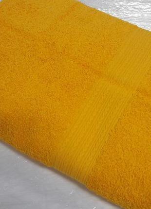 449f4e327cad9af Полотенце махровое 50 на 90 желтое, ТМ Ярослав - Мамуля