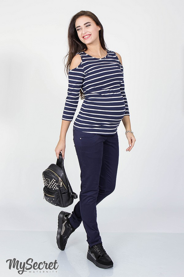 Джинсы PRIME для беременных Skinny fit, синий, ТМ Юла мама a1b76efe812
